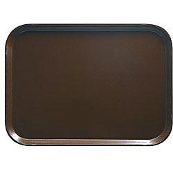 Cambro Brown Fast Food Tray (Case of 24)