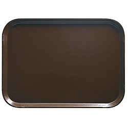 Cambro Brown Fast Food Tray (Pack of 12)