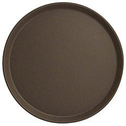 Cambro Tan 16-in Round Tavern Tray