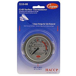 Cooper Instrument Surface Grill Thermometer