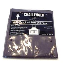 Challenger Black Apron - Three Pocket