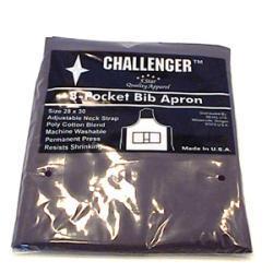 Challenger Black Apron - Three Pocket