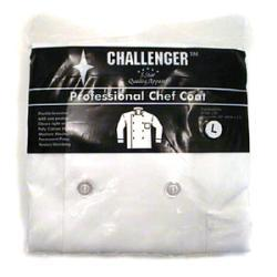 Challenger Large White Chef Coat