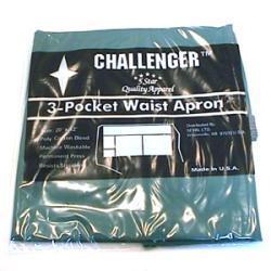 Challenger Hunter Green Three Pocket Waist Apron