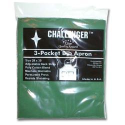 Challenger Hunter Green Adjustable Three Pocket Apron - Thumbnail 2