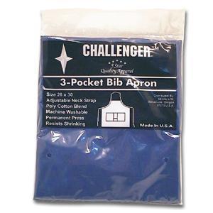 Challenger Royal Blue Adjustable Three Pocket Apron
