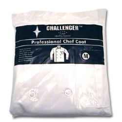 Challenger Small White Chef Coat