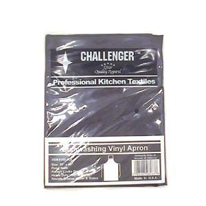 Challenger Black Vinyl Dishwashing Apron