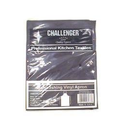 Challenger Black Vinyl Dishwashing Apron - Thumbnail 0