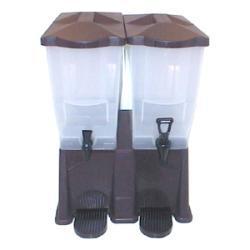 Tablecraft Brown 3 Gallon Double Beverage Dispenser