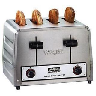 Waring WCT800 Stainless Steel 120-volt Heavy Duty Toaster