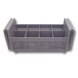 Cambro 8 Compartment Half Size Flatware Rack