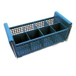 Carlisle Foodservice Flatware Basket With Handles