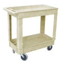 Rubbermaid Commercial Beige Utility Cart