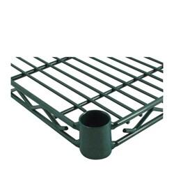Challenger 14 x 30 Inch Jade Wire Shelf