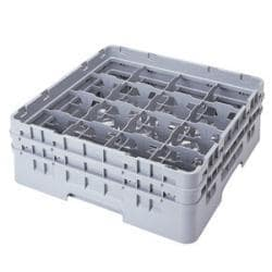 Cambro 16 Compartment Camrack with 1 Extender