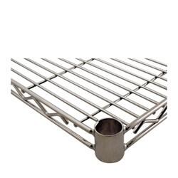 Challenger 24 x 42 Inch Chrome Wire Shelf