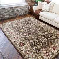 Hand-tufted Coliseum Wool Area Rug - 6' x 9'