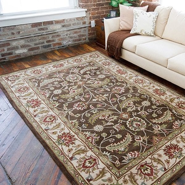 Hand-tufted Coliseum Wool Area Rug (6' x 9')
