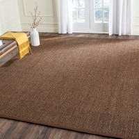 Safavieh Casual Natural Fiber Hand-Woven Resorts Brown Fine Sisal Rug - 8' x 10'
