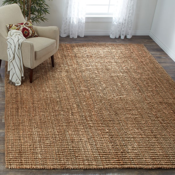 Safavieh Casual Natural Jute Hand Woven Chunky Thick Rug