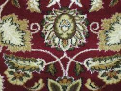 Anoosha Persian Garden Red Rug (7'10 x 10'10) - Thumbnail 2