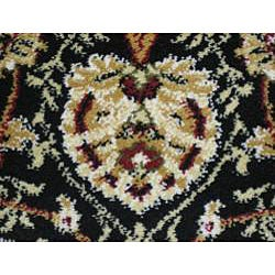 Anoosha Allover Sarouk Red Rug (7'10 x 10'10) - Thumbnail 2