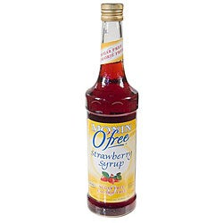 Monin Inc 750-ml O'Free Strawberry Syrup (Pack of 12)