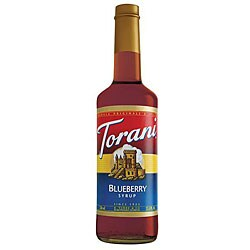 Torani Blueberry Syrup 750ML (Pack of 12)