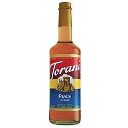 Torani 750-ml Peach Syrup (Pack of 12)
