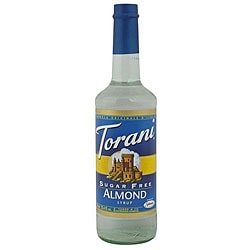Torani 750ML Torani Sugar Free Almond Syrup (Pack of 12) - Thumbnail 0