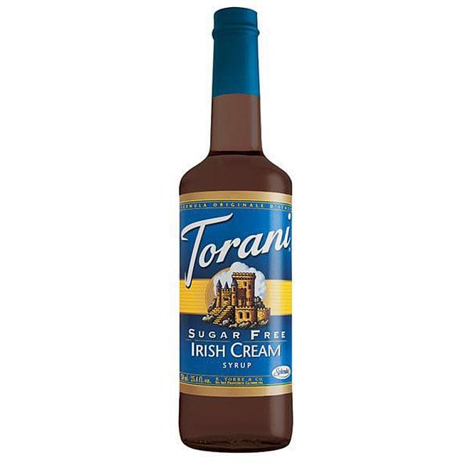 Torani Sugar Free Irish Cream Syrup 750ML (Pack of 12)