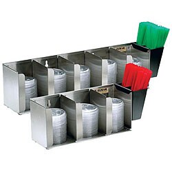 San Jamar 3-compartment Lid Dispenser
