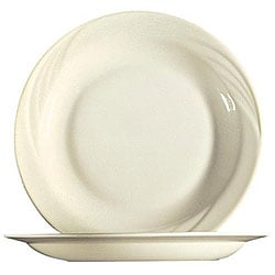 Cardinal International 9-in White Cypress Pellet Plates (Case of 24)