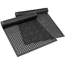 Axia 3-foot x 5-foot Black Antifungal Econo Mat