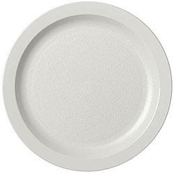 Cambro 6.5-in Camwear White Narrow Rim Plate (Case of 48)