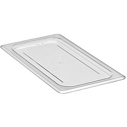 Cambro Third Size Clear Solid Flat Cover