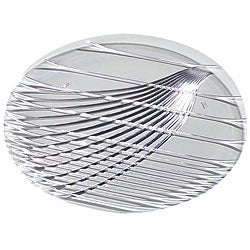 Carlisle Foodservice 13-in Clear Round Festival Tray