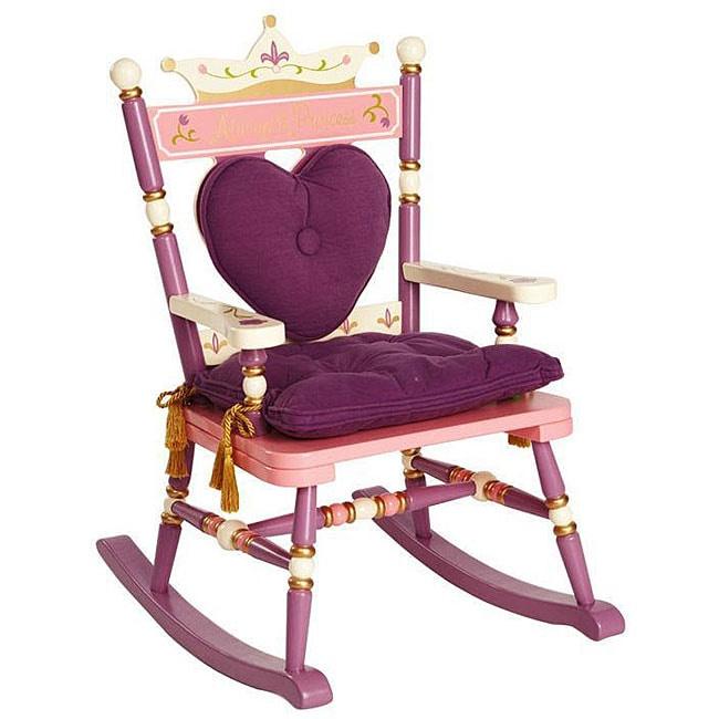 Shop Royal Princess Rocking Chair Free Shipping Today