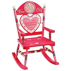 Time Out Girl's Rocking Chair