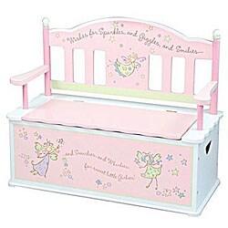 Fairy Wishes Storage Bench