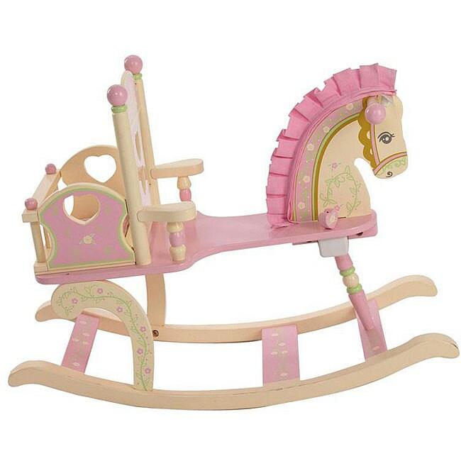 Etonnant Kiddie Ups Rock A My Baby Rocking Horse