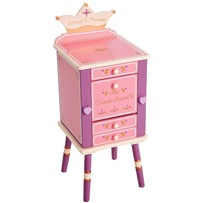 Levels of Discovery Princess Jewelry Cabinet, Pink
