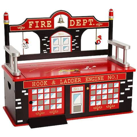 Firefighter Storage Bench