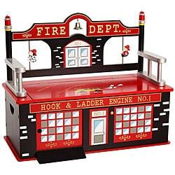 Firefighter Storage Bench