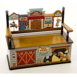 Wild West Storage Bench