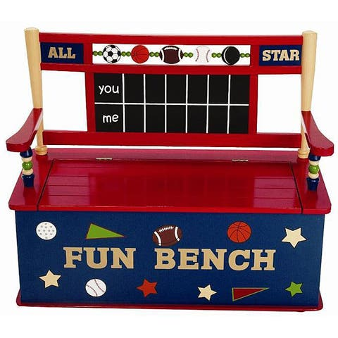 All Star Sports Storage Bench
