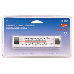 Cooper Instrument Refrigerator/ Freezer Thermometer