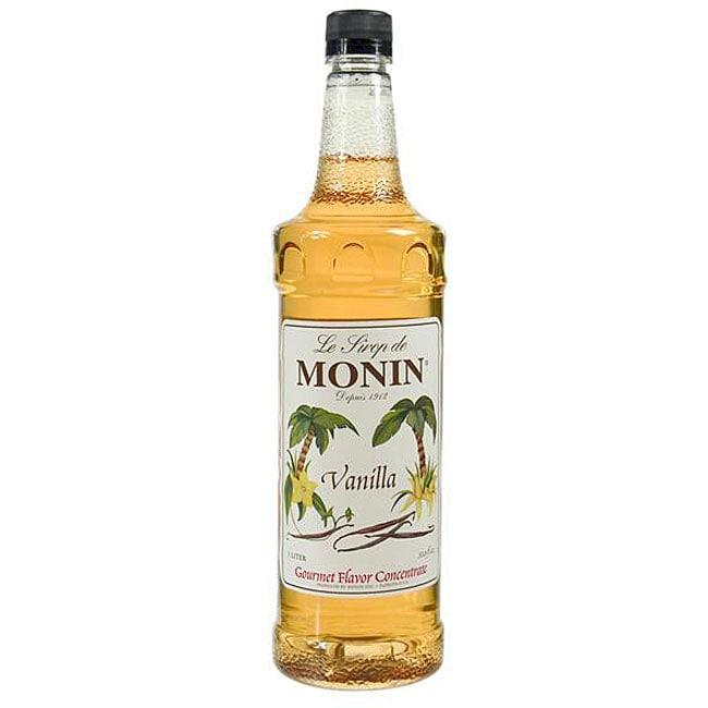 Monin Inc 1-liter Pet Vanilla Syrup (Pack of 4)