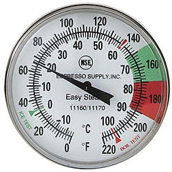 Espresso Supply, Inc Easy Steam Thermometer